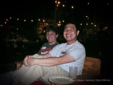 Murray (l.) und Thanh (r.): unsere Couchsurf-Gastgeber
