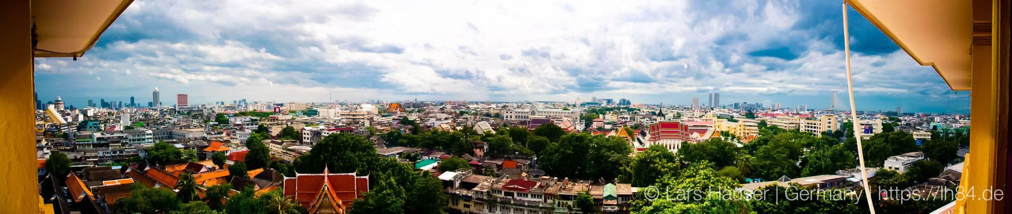 Panorama Bangkok from Golden Mount