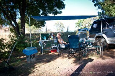 Unser kleines Camp-