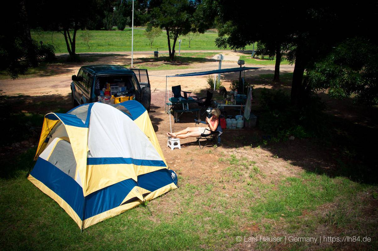 Unser Camp für 9 Wochen!! Nun heißt es Abschied nehmen....