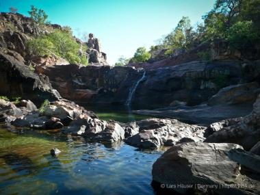Upper Pools bei den Gunlom Falls im Kakadu